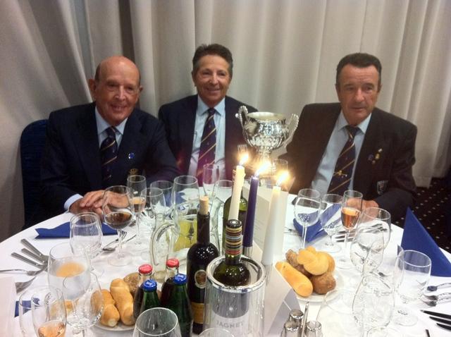 Socios del R.C.G. Guadalmina ganadores con el Equipo Nacional en Bratislava