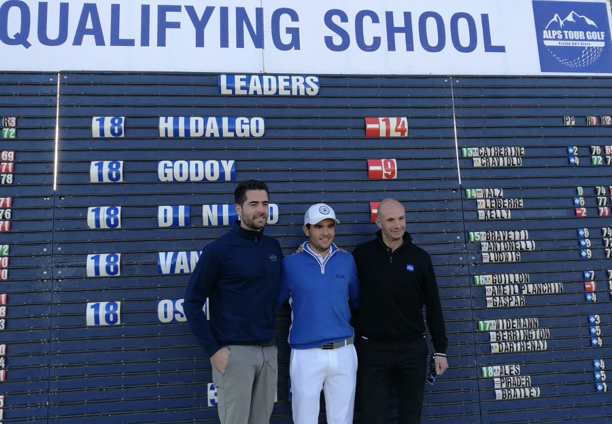 Fabulous Angel Hidalgo wins Alps Tour Q School Final and earns the card
