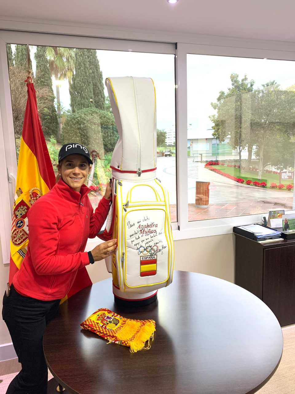 Azahara Muñoz gives us the bag she used in Rio 2016 Olympic Games