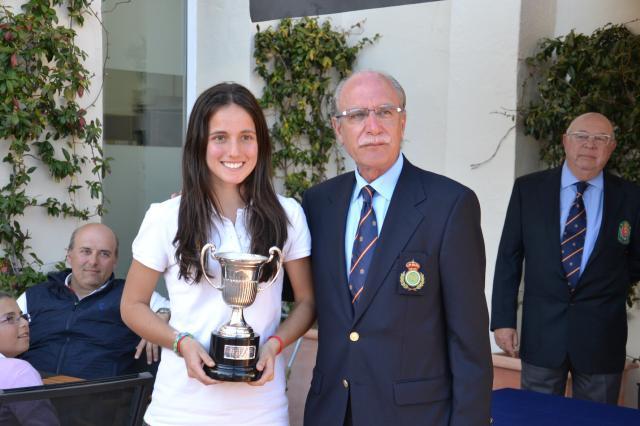 Lucía Jiménez Flamante Campeona de España de Pitch & Putt
