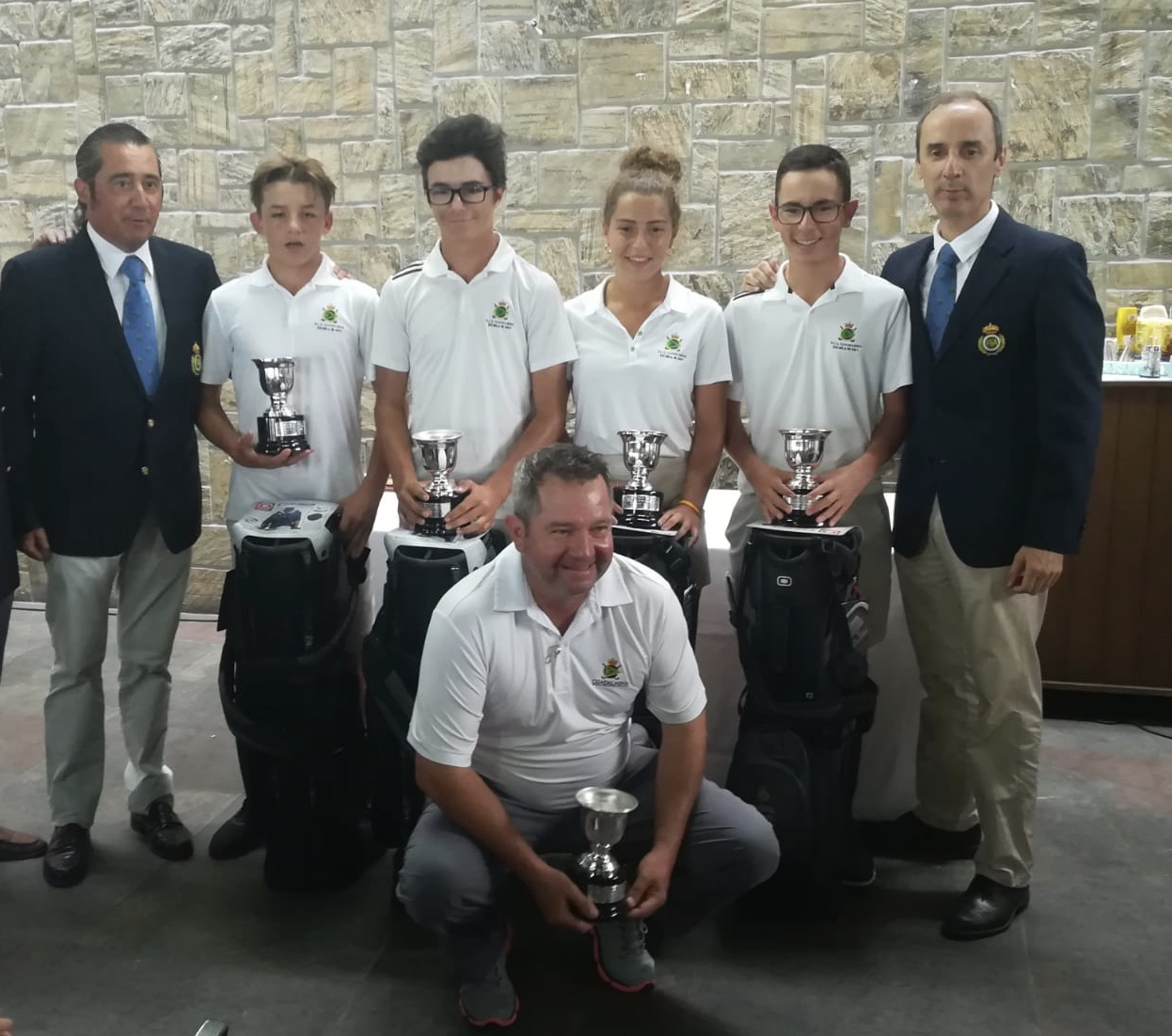 5th consecutive title for Guadalmina in the Interclubes de Andalucía Infantil & Cadete