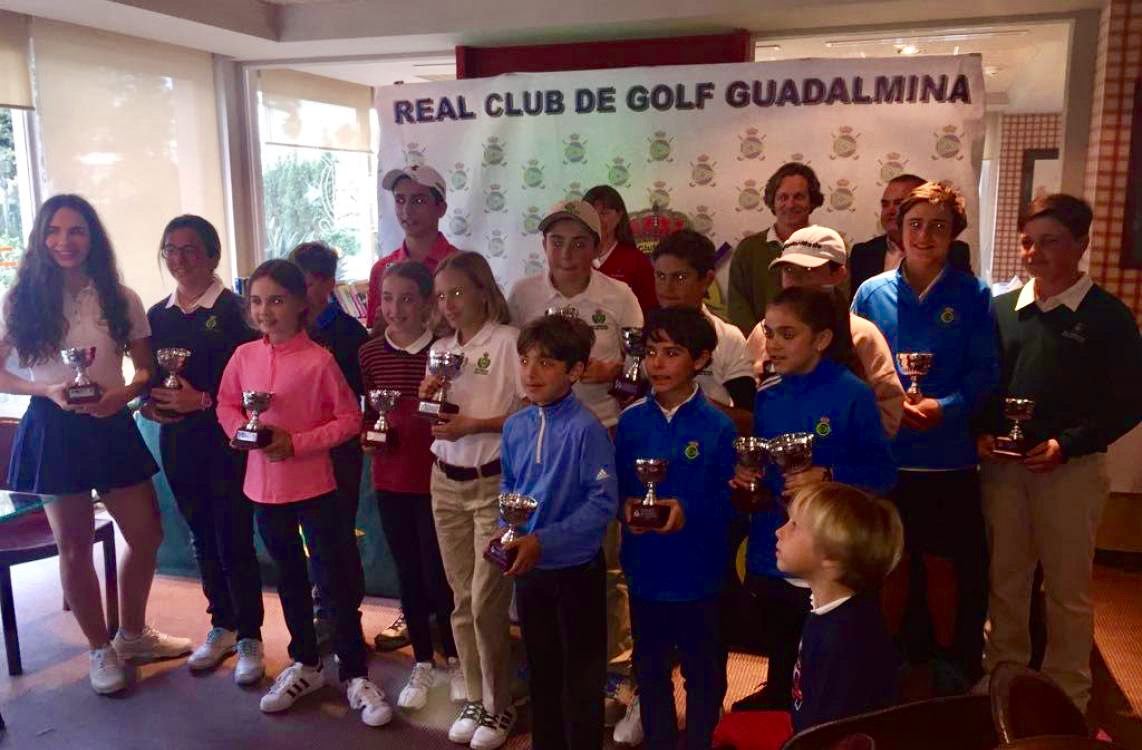 The best kids of Malaga and north of Cadiz were reunited past weekend in Guadalmina