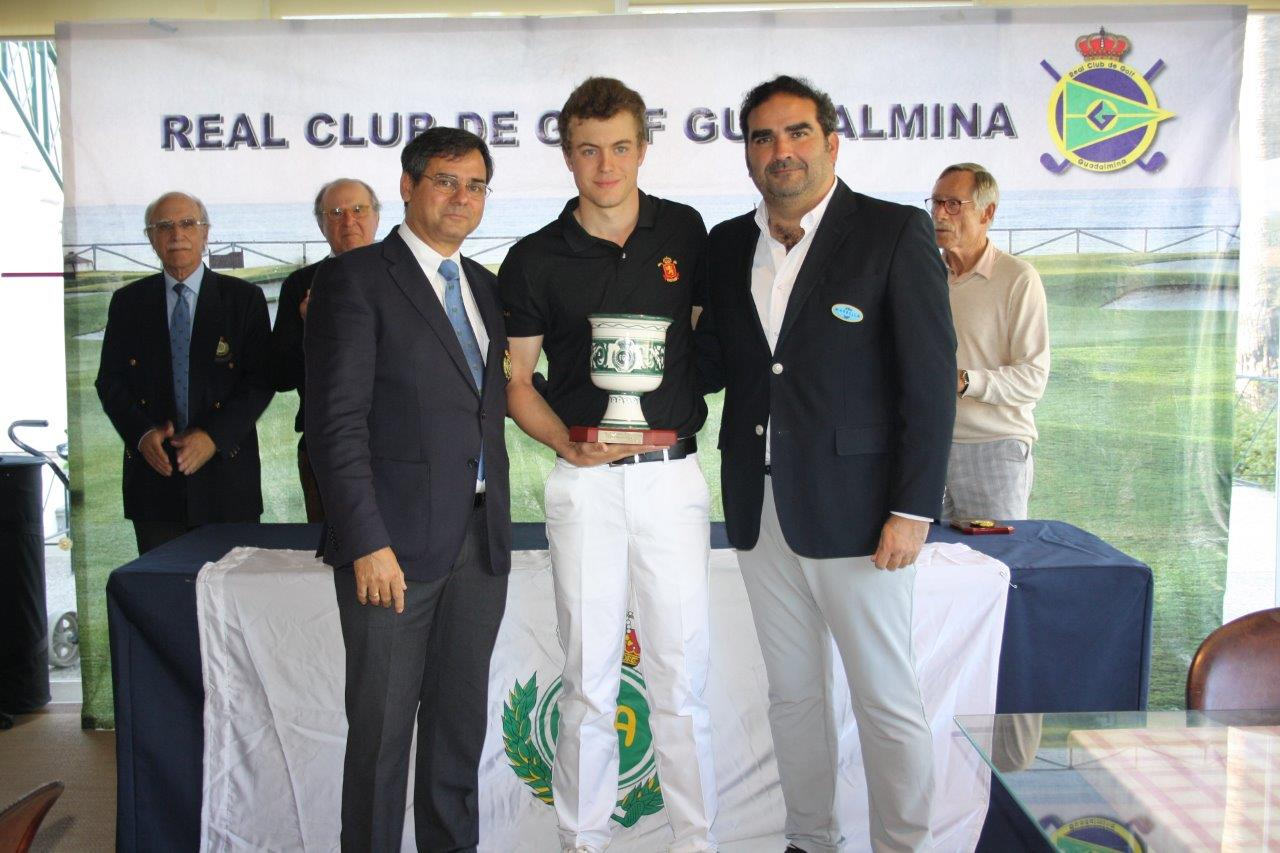 Powerful victory of Eduard Rousaud in the Copa Andalucía 2020 held on the South Course