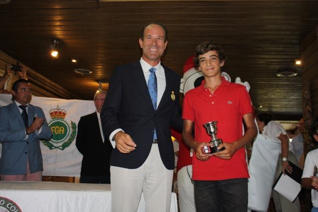 Felipe Barrena - Campeón de Andalucia Infantíl