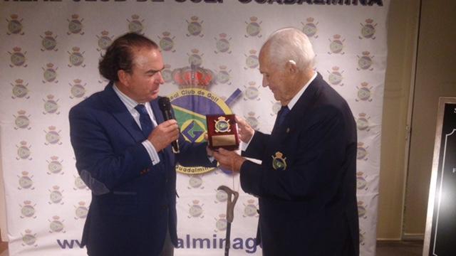 Mr. Fernando Goizueta honorary member ceremony
