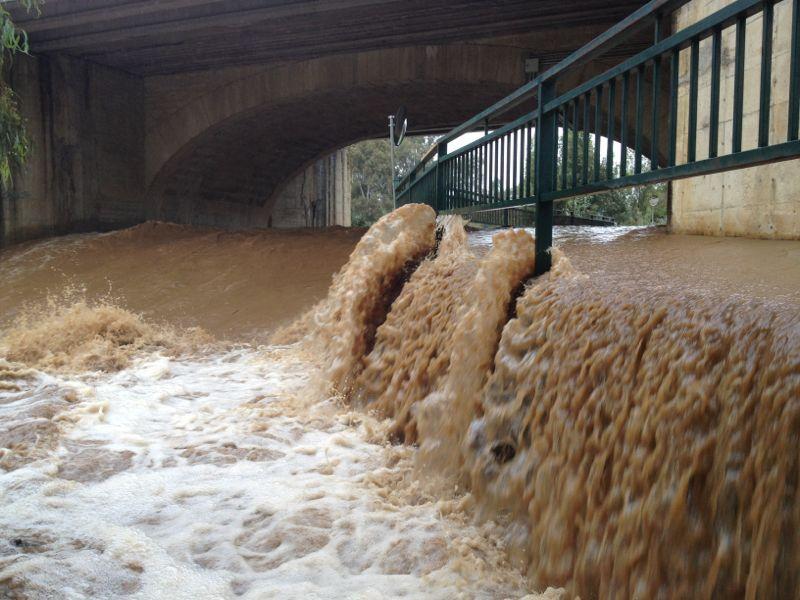 Increible imagen del Rio Guadalmina