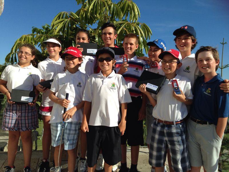 Buenos resultados de nuestros alumnos en la prueba del Circuito Juvenil de Andalucía en Baviera Golf