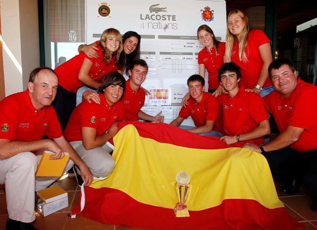 España gana el Lacoste 4 Naciones