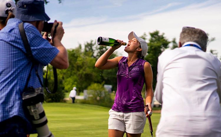 Laura Gómez certifies her promotion to the Ladies European Tour