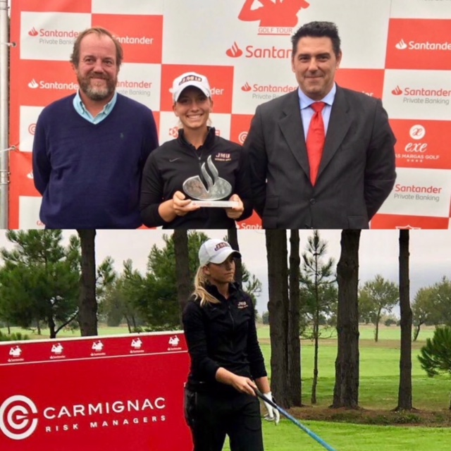 Laura Gómez wins the Santander Ladies Tour in Neguri, her first professional victory