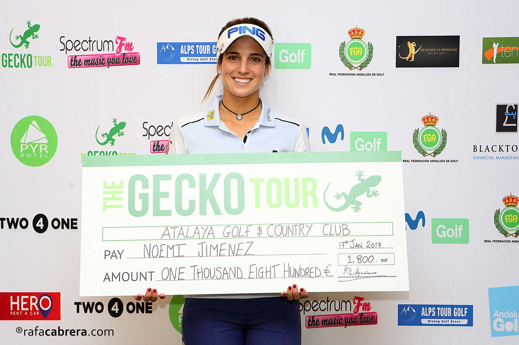 Noemí Jiménez makes history in Gecko Tour