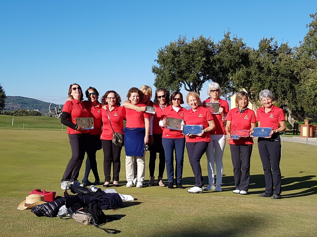 "Las ""ladies"" de Guadalmina triunfan en San Roque"