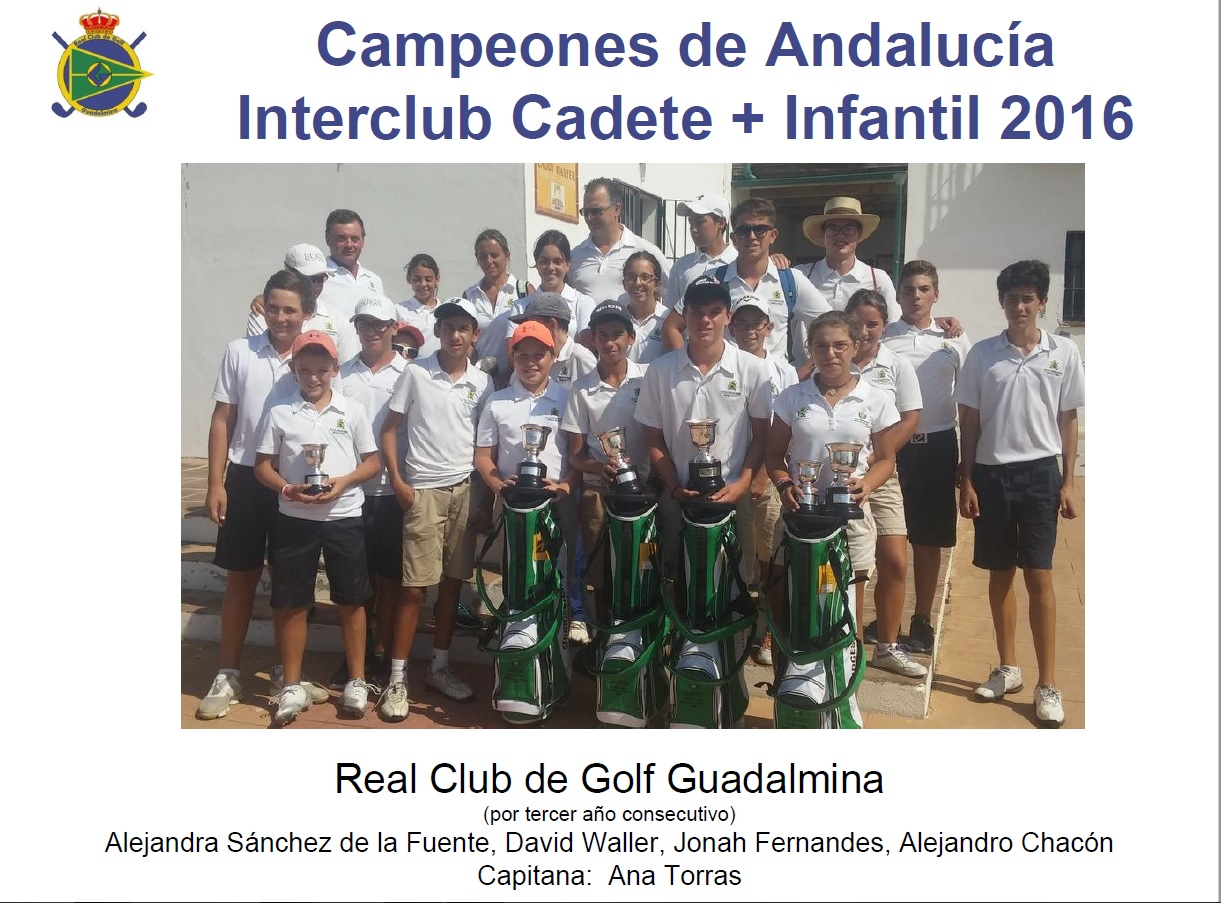 Our Club wins the Andalusian Interclub Championship three years in a row