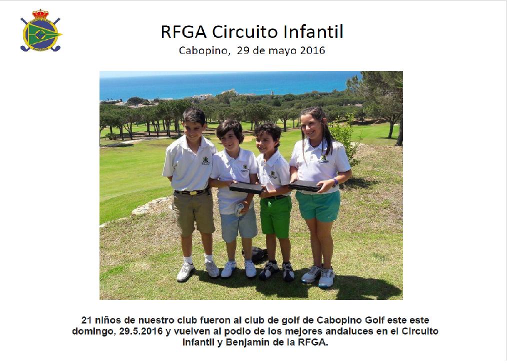 Nuevos podios en el Circuito Infantil y Benjamín Andalucía
