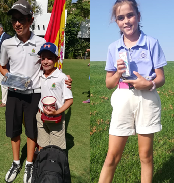 Powerful performance in the Andalusian Pitch and Putt Championship Under 16