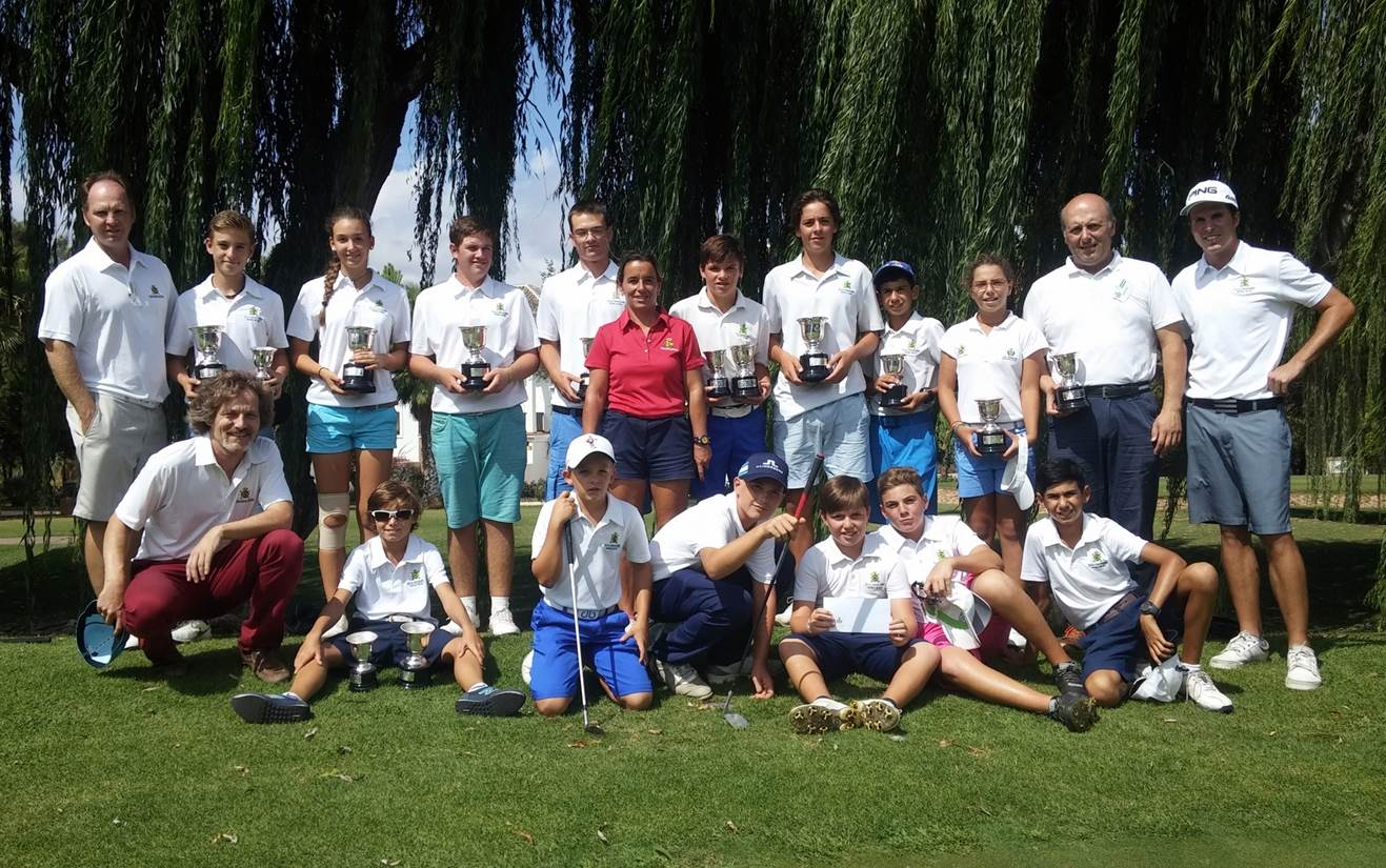 Real Club de Golf Guadalmina Teams WINNERS AND RUNNERS UP