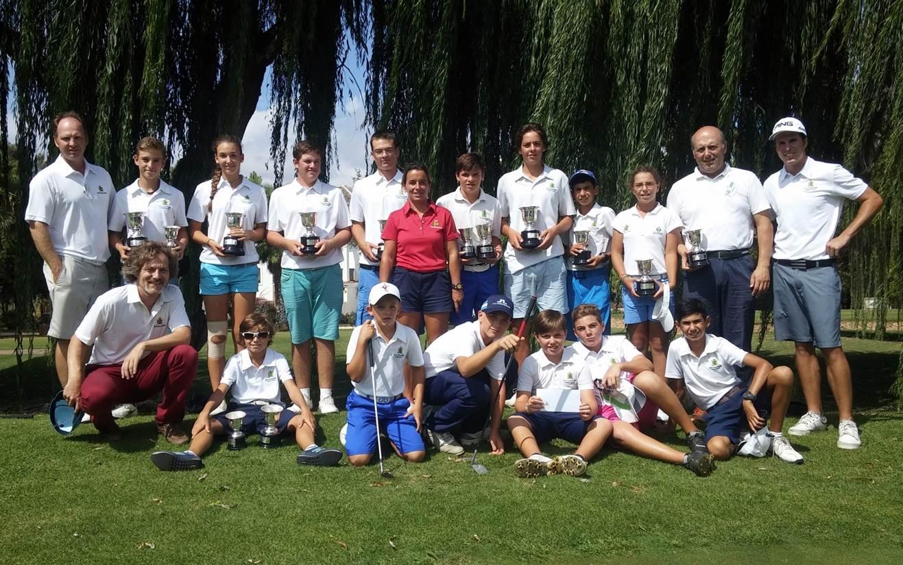 El Real Club de Golf Guadalmina ARRASA  en el Campeonato por Equipos