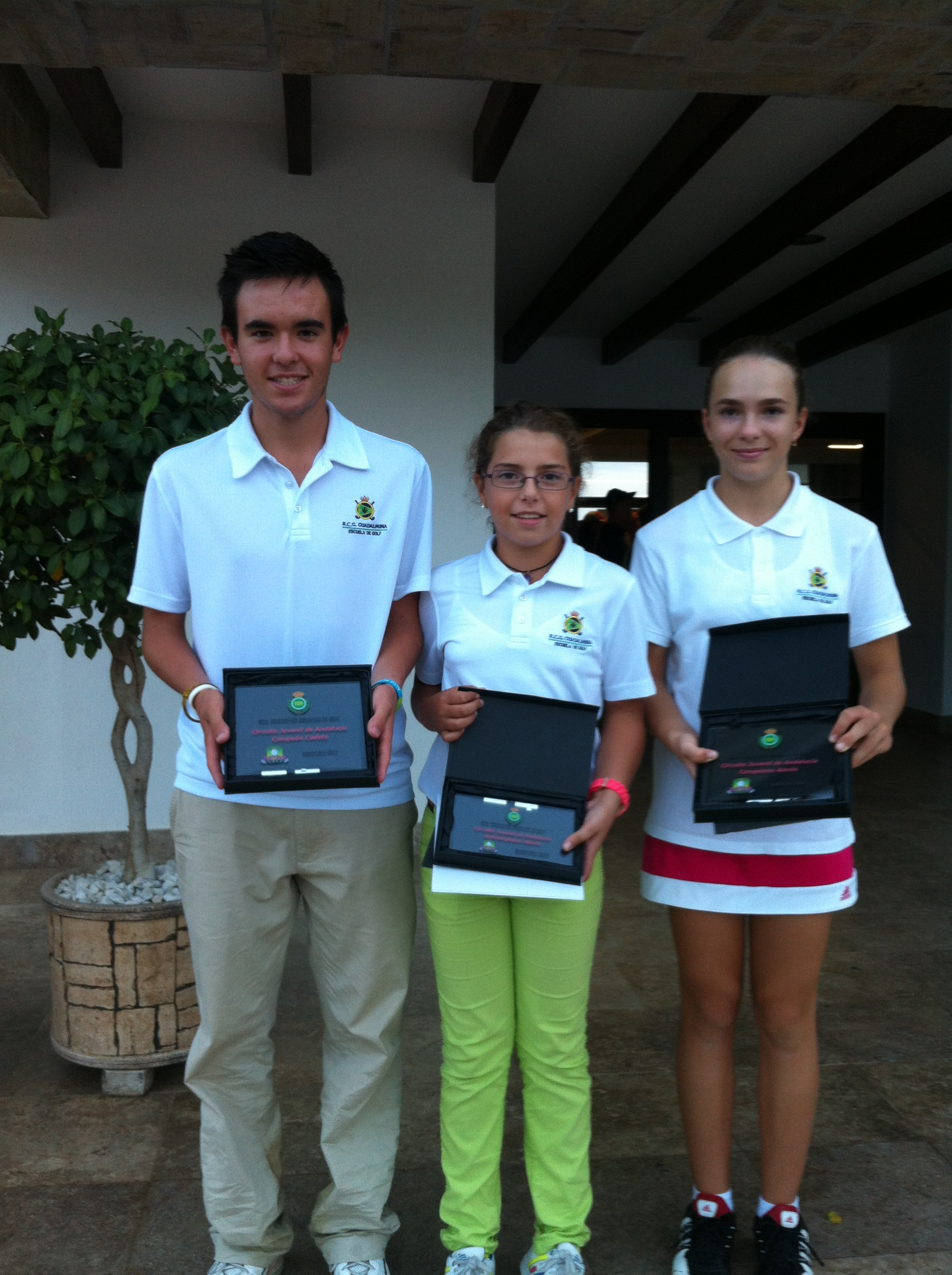 FOUR PODIUMS IN THE ANDALUSIAN CHAMPINSHIP