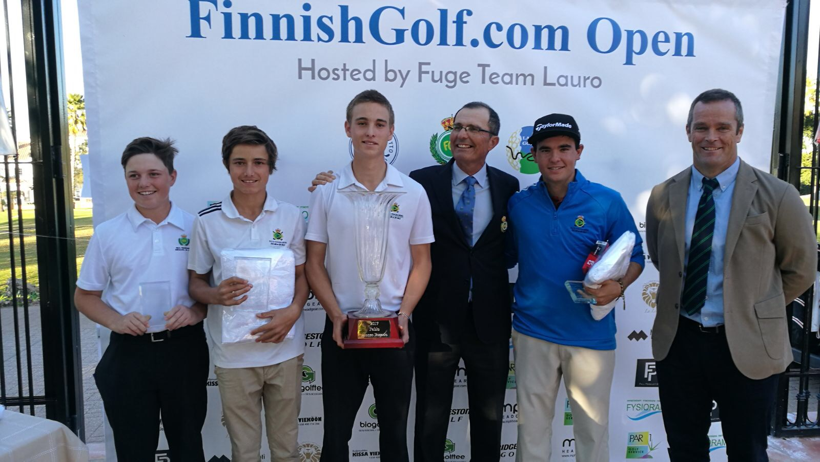 Guadalmina domina el Finnish Open Sub 21 en Lauro Golf