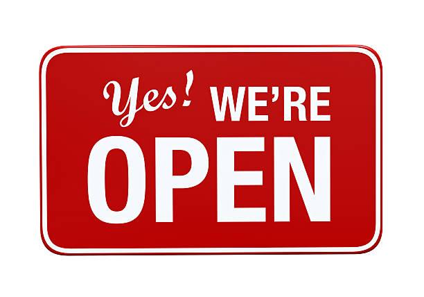 Courses open!