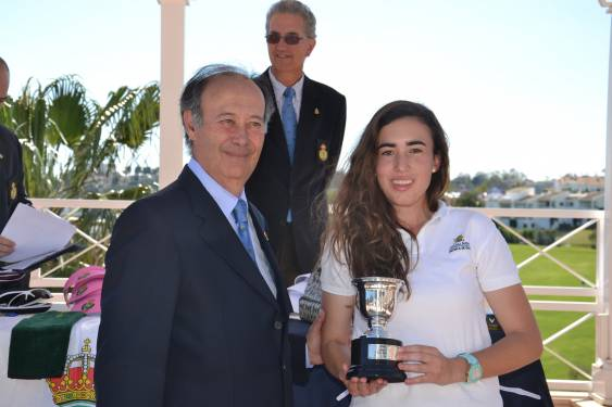 Member Patricia Marquez winner of Andalusian Pitch & Putt Championship