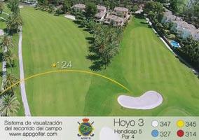 Campo Norte - Hoyo 3 - Handicap 5 - Par 4