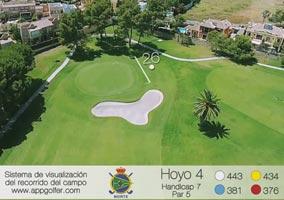 Campo Norte - Hoyo 4 - Handicap 7 - Par 5