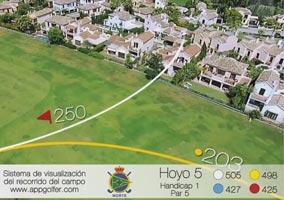 Campo Norte - Hoyo 5 - Handicap 1 - Par 5