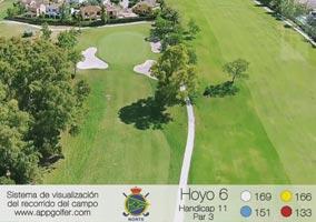 Campo Norte - Hoyo 6 - Handicap 11 - Par 3