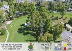 Campo Norte - Hoyo 7 - Handicap 3 - Par 4