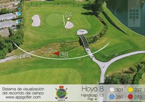 North Course - Hole 8 - Handicap 13 - Par 4