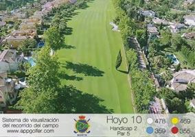 Campo Norte - Hoyo 10 - Handicap 2 - Par 5
