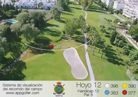 Campo Norte - Hoyo 12 - Handicap 12 - Par 5