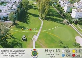 Campo Norte - Hoyo 13 - Handicap 10 - Par 4