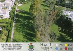 Campo Norte - Hoyo 14 - Handicap 16 - Par 3