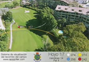 Campo Norte - Hoyo 17 - Handicap 14 - Par 4