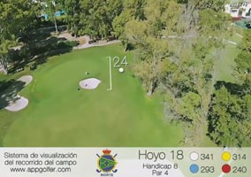 North Course - Hole 18 - Handicap 8 - Par 4