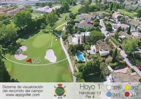 Campo Sur - Hoyo 1 - Handicap 13 - Par 4