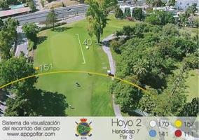 Campo Sur - Hoyo 2 - Handicap 7 - Par 3