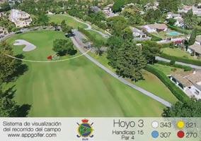 Campo Sur - Hoyo 3 - Handicap 15 - Par 4