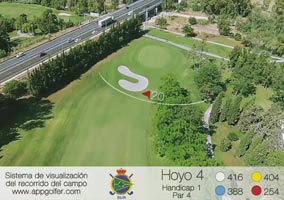 Campo Sur - Hoyo 4 - Handicap 1 - Par 4