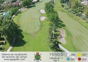 Campo Sur - Hoyo 5 - Handicap 11 - Par 4