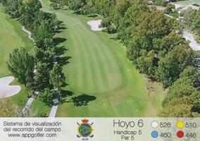 Campo Sur - Hoyo 6 - Handicap 5 - Par 5