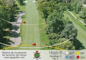 South Course - Hole 8 - Handicap 3 - Par 4
