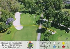 Campo Sur - Hoyo 9 - Handicap 9 - Par 3