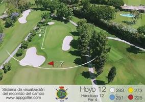 Campo Sur - Hoyo 12 - Handicap 12 - Par 4