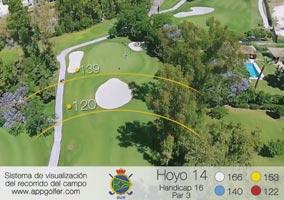 Campo Sur - Hoyo 14 - Handicap 16 - Par 3
