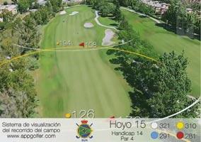 Campo Sur - Hoyo 15 - Handicap 14 - Par 4