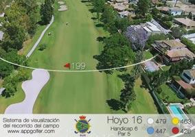 Campo Sur - Hoyo 16 - Handicap 6 - Par 5