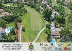 Campo Sur - Hoyo 18 - Handicap 8 - Par 4